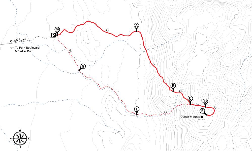 Hike Queen Mountain Trail