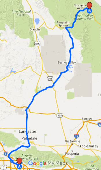 How To Plan A Road Trip Route With Google Maps - Google maps to and from
