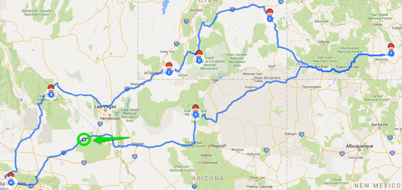 How To Plan A Road Trip Route With Google Maps - Usa maps route planner