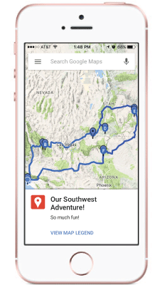 how to plan a road trip route with google maps. Black Bedroom Furniture Sets. Home Design Ideas