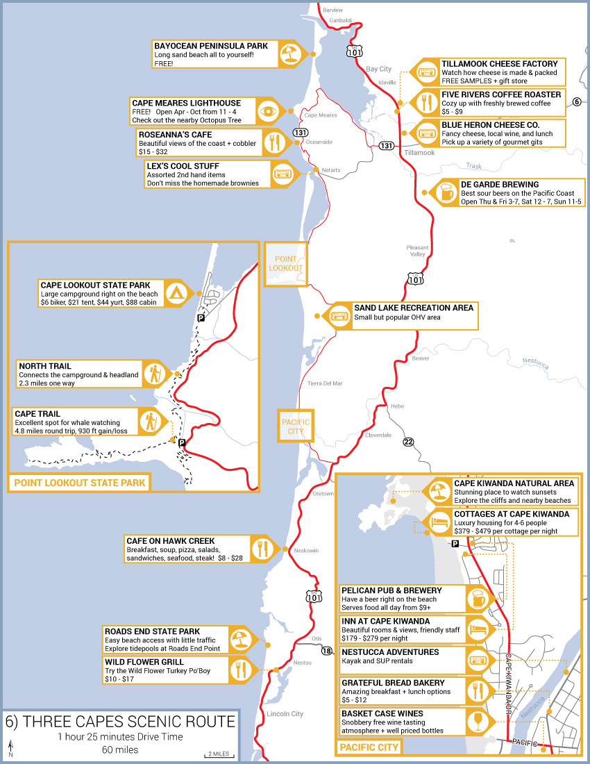 Three Capes Scenic Route Road Trip Guide